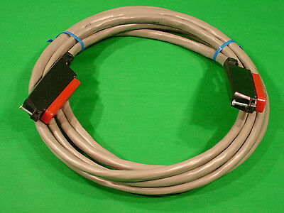 5' Telco Amphenol 25 Pair 50 Pin Patch Cord Female to Female RJ21 Category 3