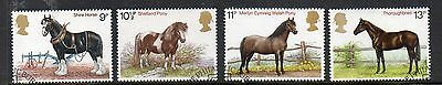 GB 1978 Horses fine used set stamps