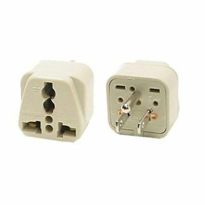Travel Universal Plug Adapter Type B for Japan, US - 2 Pack (Grounded)