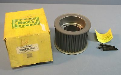 "TB Wood's P30-14M-85-SK High Torque Timing Sprocket 4850 RPM 2-3/4"" Bore NOS"