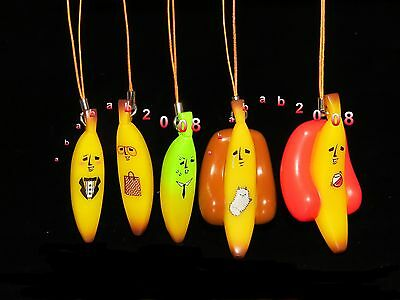 Bandai Banana Banana family strap gashapon figure (full set of five figures)