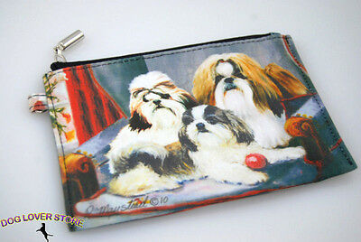 Shih Tzu Travel Makeup Bag