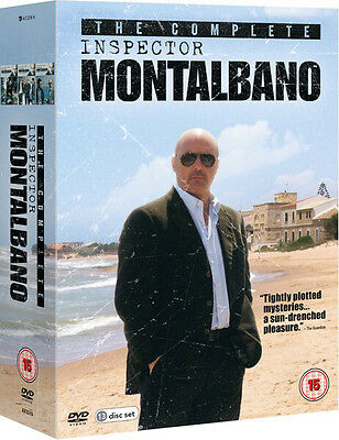 ❏ Inspector Montalbano 1-6 Complete Collection Series Films DVD ❏ 1 2 3 4 5 6