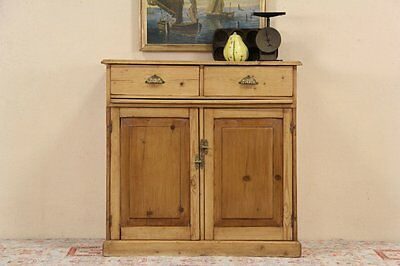 Country Pine Antique 1890 Server or Sideboard