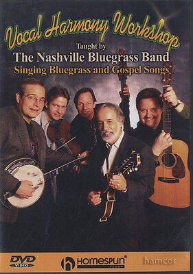 Vocal Harmony Workshop Tuition DVD Learn to Sing The Nashville Bluegrass Band