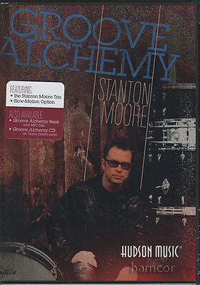 Groove Alchemy Stanton Moore Drum Tuition DVD
