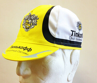Tinkoff Cycling Cap - Made in Italy by Apis - design 2