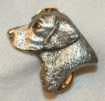 Labrador Retriever Lab Head Dog Fine PEWTER PIN Jewelry Art USA Made