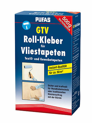 PUFAS Roll adhesive Paste Fleece Carpet 500 g (€ 19,00/1 Kg)
