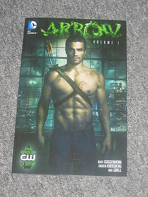 DC Comics ARROW Volume 1 TRADE PAPER BACK NEW Green Arrow CW TV Show
