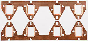 JEGS Performance Products 210354 Copper Exhaust Gaskets Ford FE 390-428