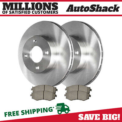 Brake Pads And Rotors Prices >> Front 2 Brake Rotors 4 Ceramic Brake Pad Fits 2000 2006