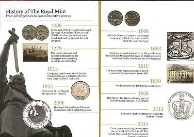 2104 Royal Mint Annual Coin Set Infomation Booklet