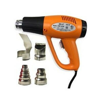 NEW 1200 Watt Dual Temp Heat Gun Paint Stripper Scraper Shrink Wrap 570F-900F