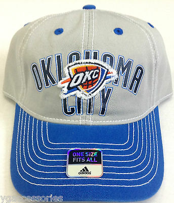 the best attitude 45986 f485c NBA Oklahoma City Thunder Adidas Adult Slouch Adjustable Fit Cap Hat Beanie  NEW!