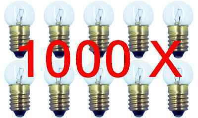 Case of 1000 #432 Miniature Lamp Lionel Bulb E10 18V (100 Boxes of 10)