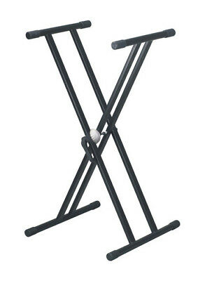Artist KS002 Height Adjustable Keyboard Stand Double Braced - New