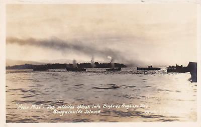 WWII Japanese Missiles BOUGAINVILLE ISLAND RPPC Postcar