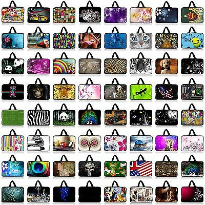 """Many Designs 15"""" 15.6"""" Laptop Notebook Carry Sleeve Case Bag Cover with Handle"""