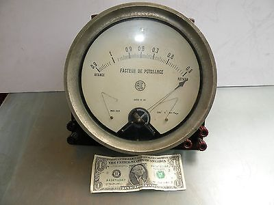 Manometre Instrument Vintage Large Industrial Manometer