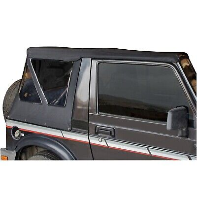 Rampage 98535 Factory Replacement Soft Top Black Diamond for 86-95 Samurai