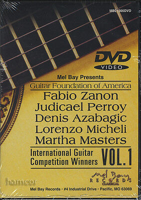Guitar Foundation of America International Competition Winners Vol 1 DVD