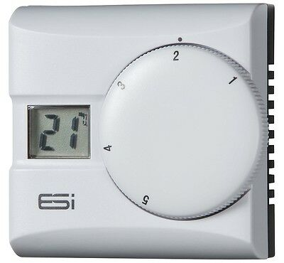 Teams Central Heating Electronic Room Thermostat Digital Stat Lcd Display