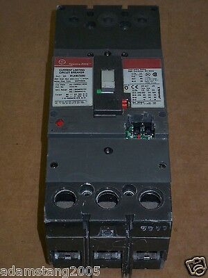 GE SFLA 3 pole 250 amp 600v SFLA36AT0250 Circuit Breaker Flawed