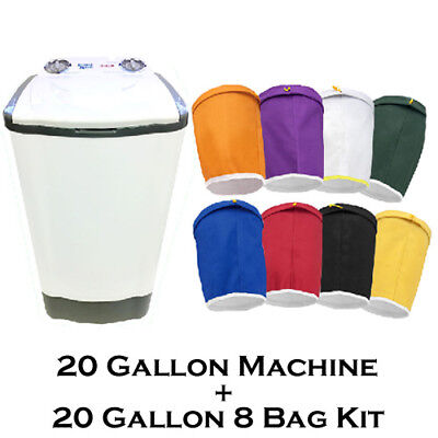 Bubble Magic 20 Gallon Herbal Extract Wine Oil Extraction Washing Bag Machine