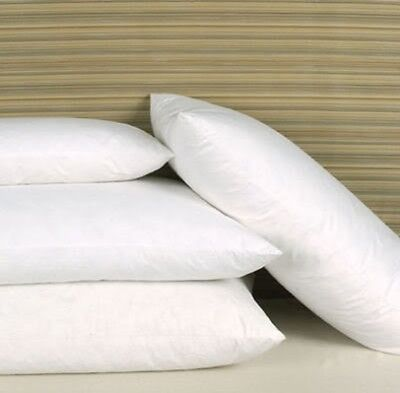 **LIMITED OFFER**  4 X GOOSE Feather And 20% Down Pillow Pillows