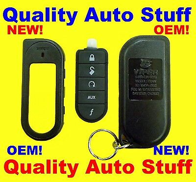 OEM NEW Viper Replacement 1-Way SST Responder Remote Shell Case 7654V EZSDEI7652