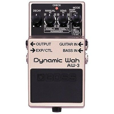 Boss AW3 Auto Wah Electric Guitar Effects Pedal AW-3