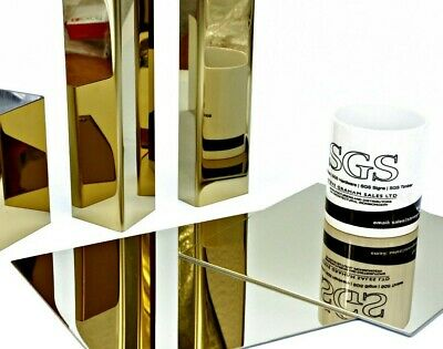 Angle Corner Protector PVD Polished Brass Plated Stainless Steel  Guillotine