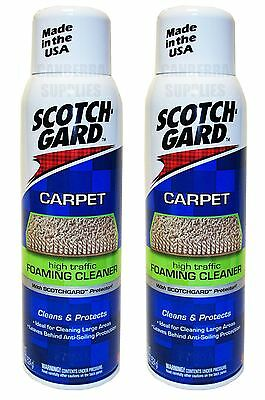 SCOTCHGARD CARPET FOAMING CLEANER WITH PROTECTOR 514ml - TWIN PACK SCOTCHGUARD