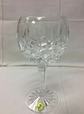 """Waterford """"lismore"""" Balloon Wine 7 1/8"""" Crystal Brand New / Made In Slovenia"""