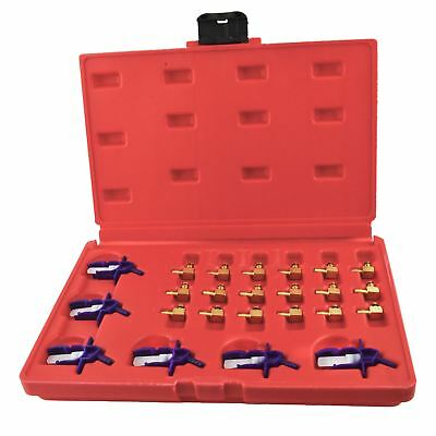 Common rail adapter set / kit / injector flow meter set 24pc AT234