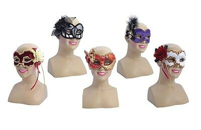 Glasses Frame Style Eye Masks With Decorations Fancy Dress Masquerade Accessory