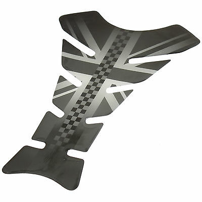 Ryde Union Jack Flag Motorbike Petrol/fuel Tank Pad Motorcycle Scratch Protector