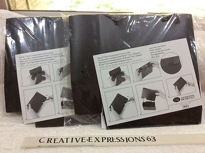 Creative Memories Power Sort Compartment Covers 2 B/N Packs Of 2