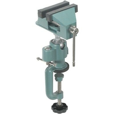 """Universal Table Bench Vise 3"""" Work Bench Clamp Swivel Rotating Hobby Craft NEW"""