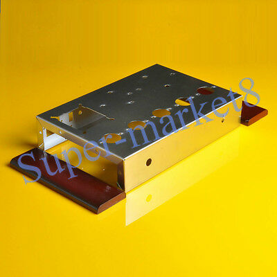 6N8P 6P3P 6L6 6V6 Tube AMP Audio Amplifier Stainless Steel Chassis Box Enclosure