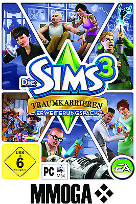 Die Sims 3 - Traumkarrieren / Ambitions EA/ORIGIN Download Code [PC][DE] - Addon