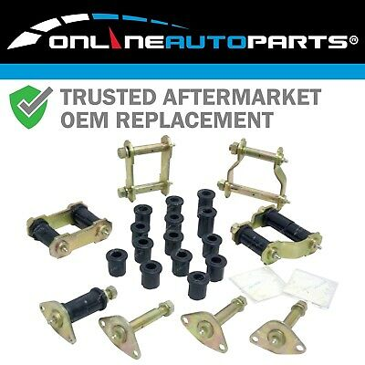 Toyota HILUX Greasable Shackle, Pin Urethane Full Kit 4x4 Leaf Spring Front Rear