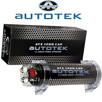 AUTOTEK AT1200 POWER CAP 1,2 FARAD KONDENSATOR 1.200.000 uF TOP ANGEBOT