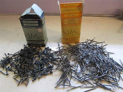 Vintage Lot Of Assorted Nails 13 Pounds Shake Nails Dry Wall Finishing Nails +