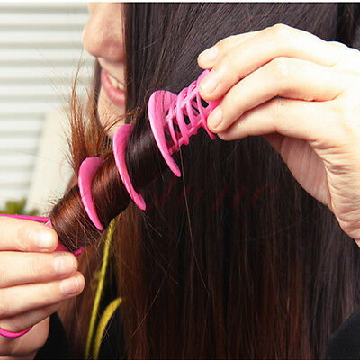 New Perm Hair Rollers Curlers Spin Rod Hairdressing Hair Style DIY