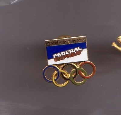 Federal Express Olympic Worldwide Sponsor Pin New