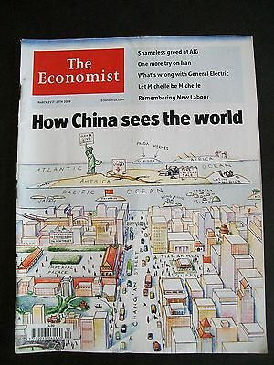 The Economist Magazine. March 21st - 27th, 2009. Volume 390. Number 8623.
