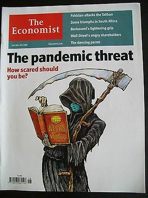 The Economist Magazine. May 2nd - 8th, 2009. Volume 391. Number 8629.