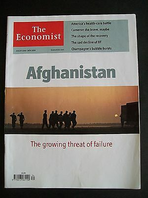 The Economist Magazine. August 22nd - 28th, 2009. Volume 392. Number 8645.